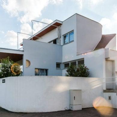 Vertreter des Organischen Bauens war Hans Scharoun, hier sein Bau in der Weißenhofsiedlung in Stuttgart.