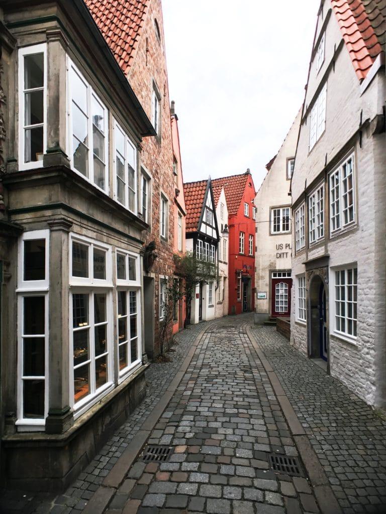 Enge Gasse in Bremens Altstadt
