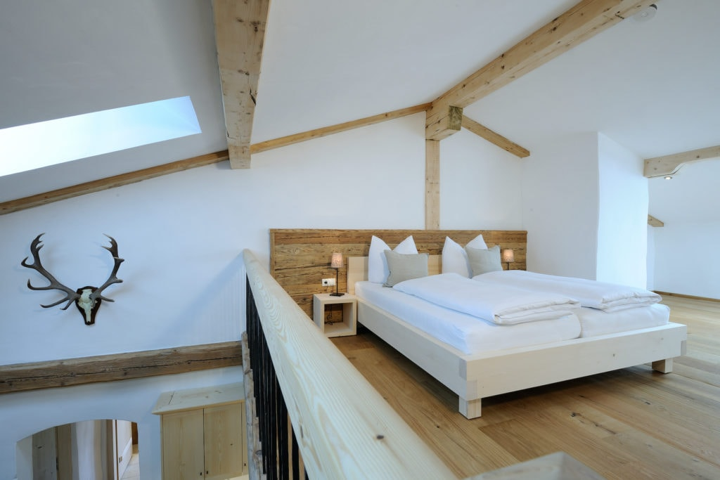 Schlafzimmer im Hanznhof