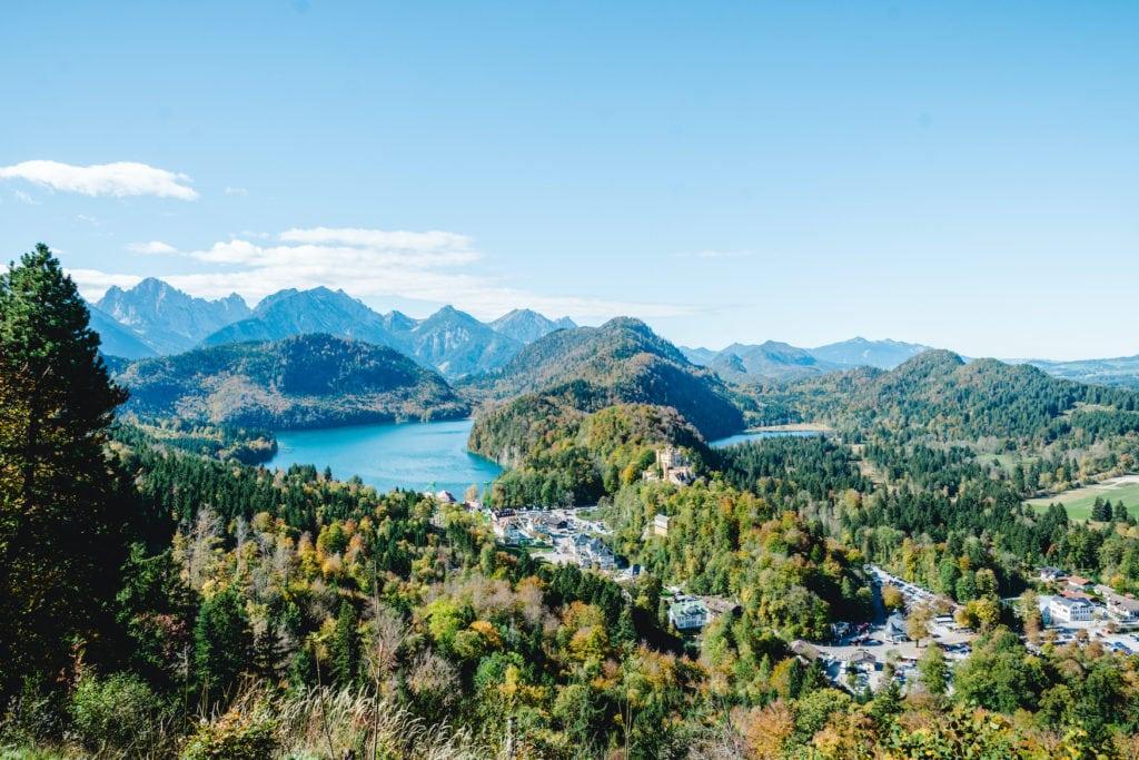 Die Region um Neuschwanstein