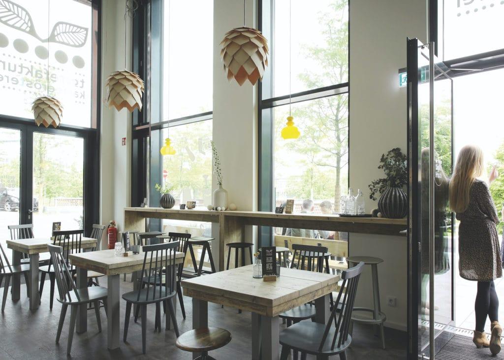 Innenansicht des Cafes Torrefaktum