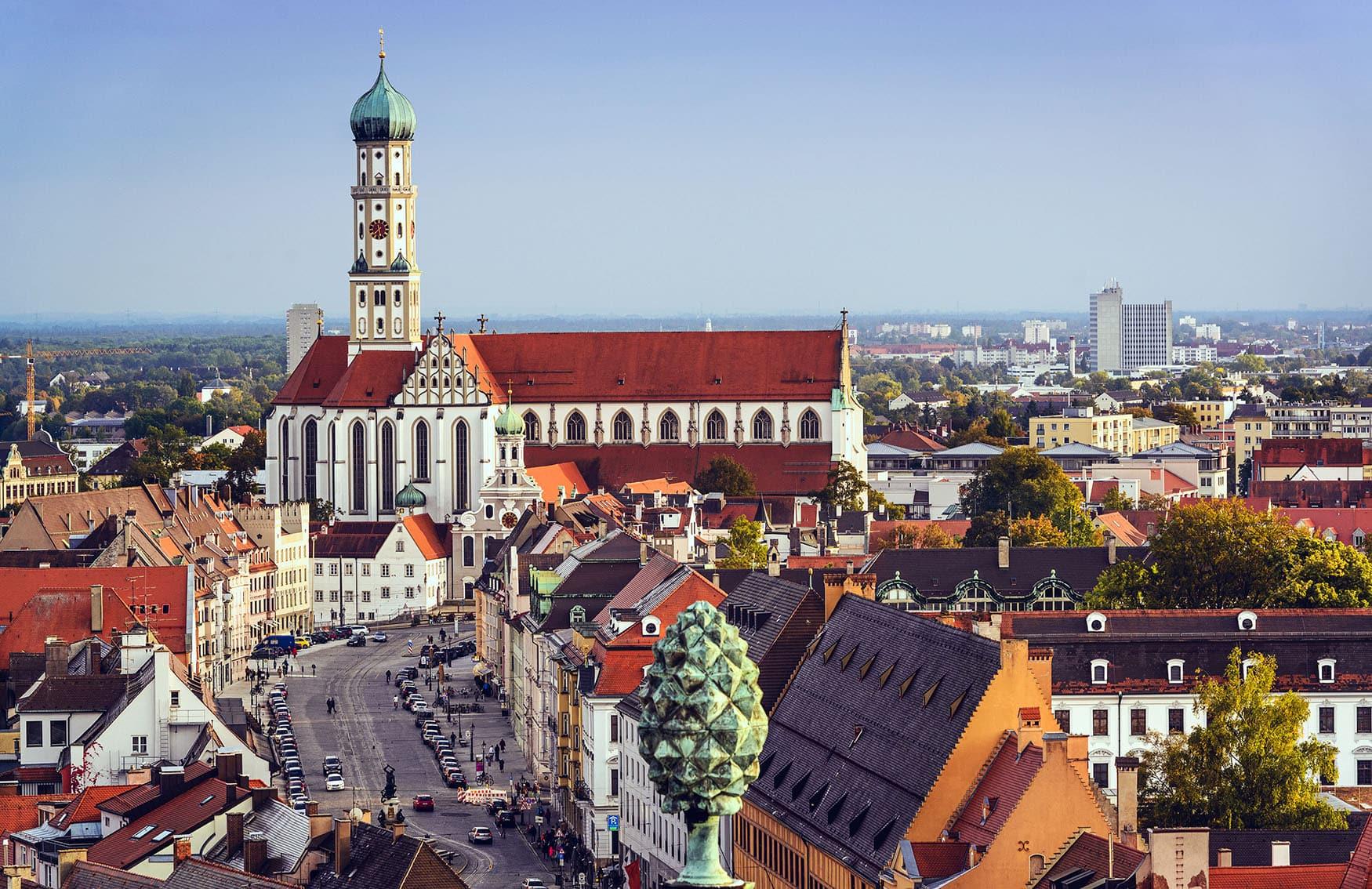 The Coolest Beer Gardens In Augsburg Funkygermany