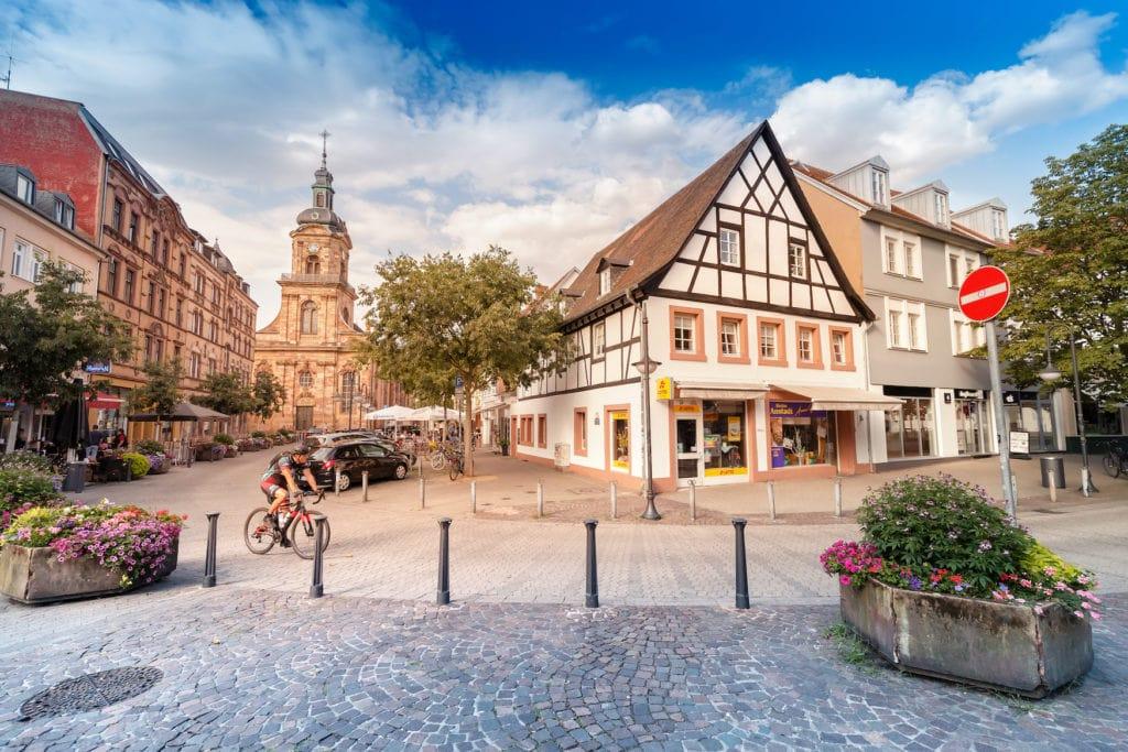 Innenstadt in Saarbrücken