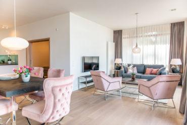 Hübsches Interior in den Suiten der Intermar Hotel & Apartments