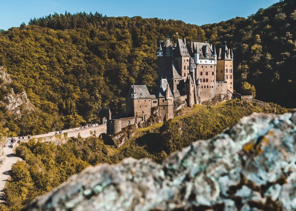 Die Sternradtour an der Mosel führt auch an der Burg Eltz vorbei