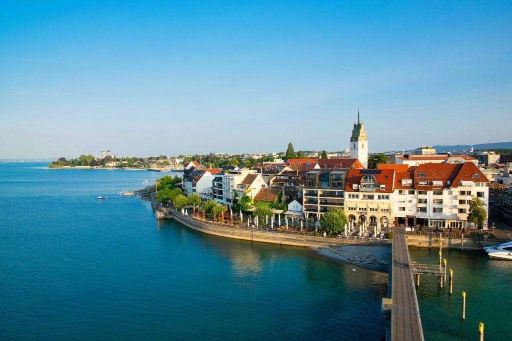 Blick auf Friedrichshafen