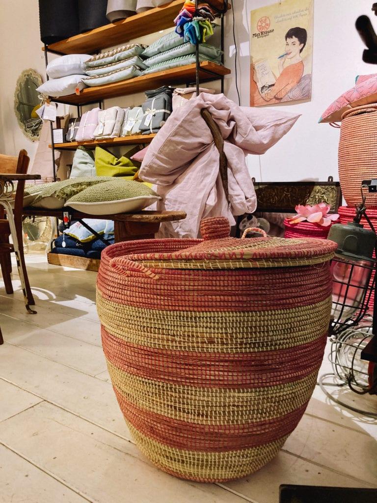 Wäschekorb aus dem Senegal