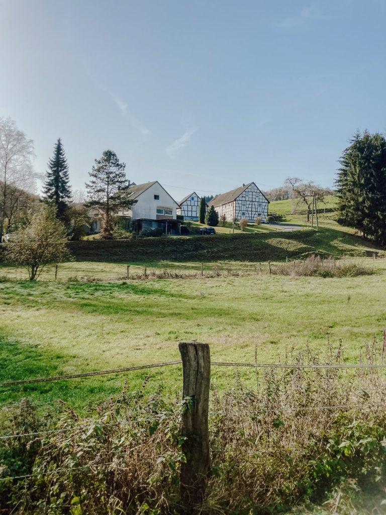 Fachwerkhäuser im Bergischen Land