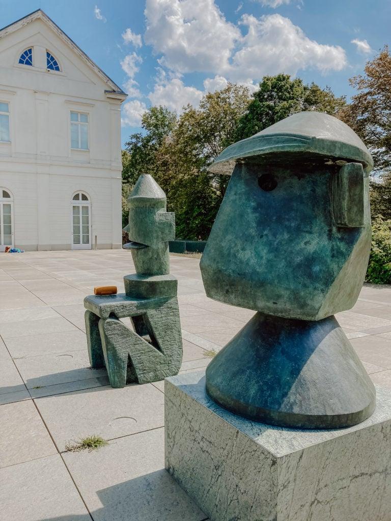 Außenbereich des LVR-Freilichtmuseums Max Ernst