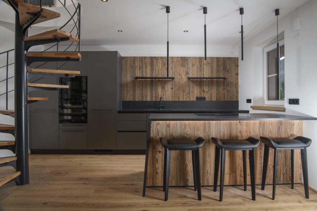 Küche im Industrial Look