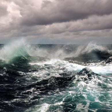 Sturm in der Nordsee