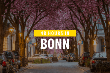 What you should not miss in Bonn? The cherry blossom!