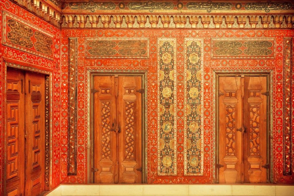 Aleppo-Zimmer im Pergamonmuseum in Berlin