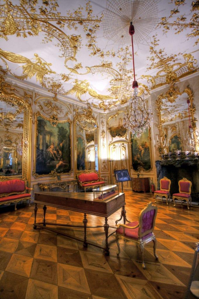 Schloss Sanssouci in Potsdam von innen