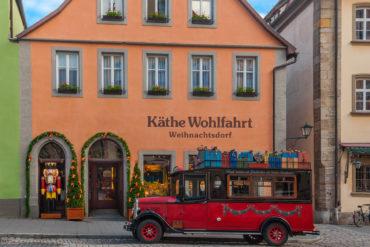 Käthe Wohlfahrt Weihnachtsdorf Außenfassade