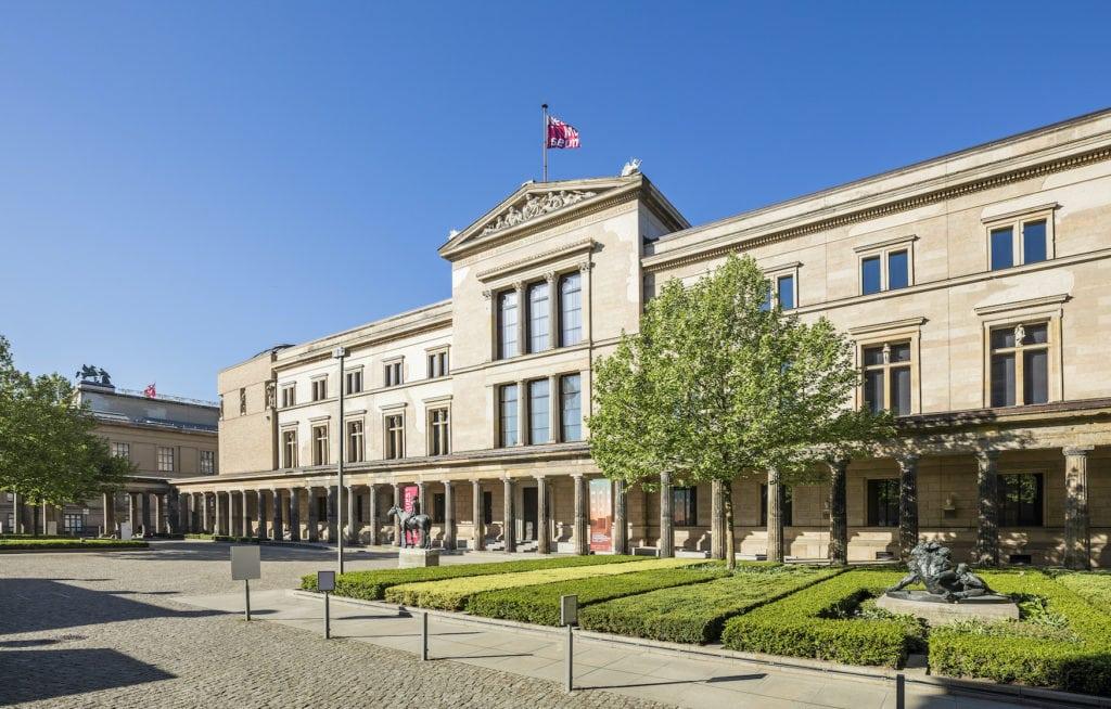 Außenfassade des Neuen Museums in Berlin
