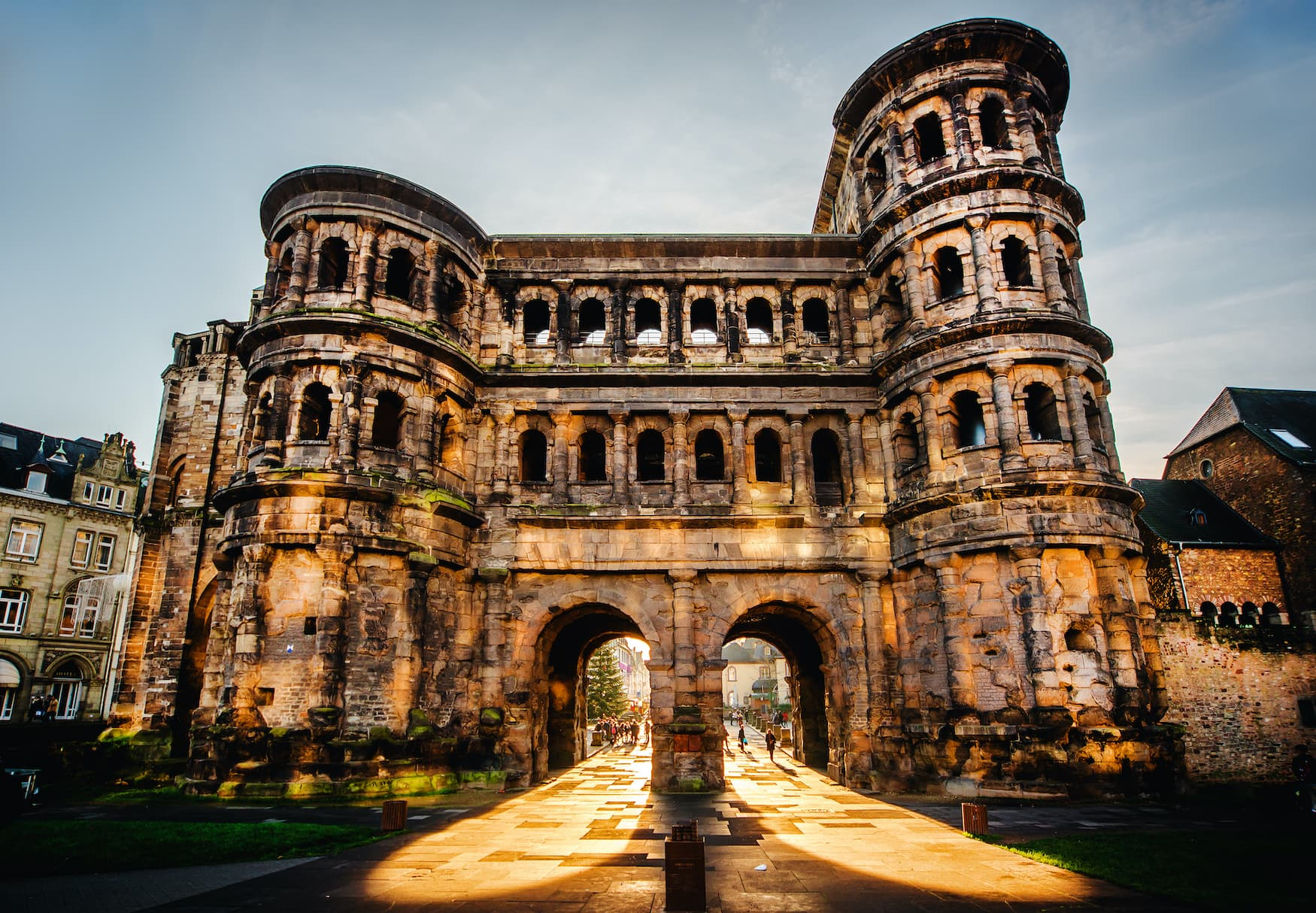 Porta Nigra, Unesco-Welterbestätte in Trier