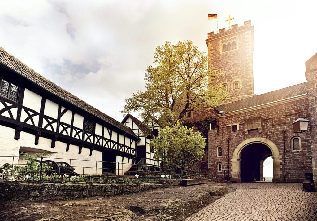 Wartburg in Thüringen, Unesco-Weltkulturerbe