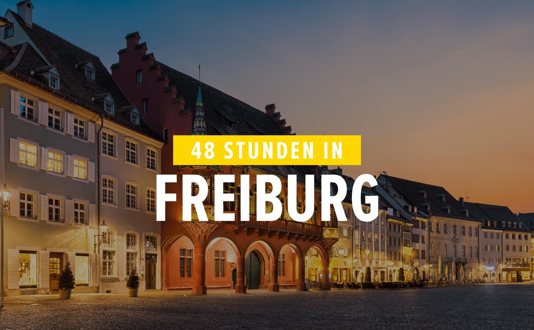 Sehenswürdigkeiten in Freiburg im Breisgau