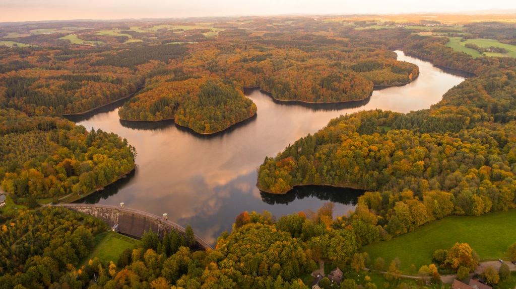 Die Talsperren zählen zu den Attraktionen in NRW, die man unbedingt gesehen haben sollte