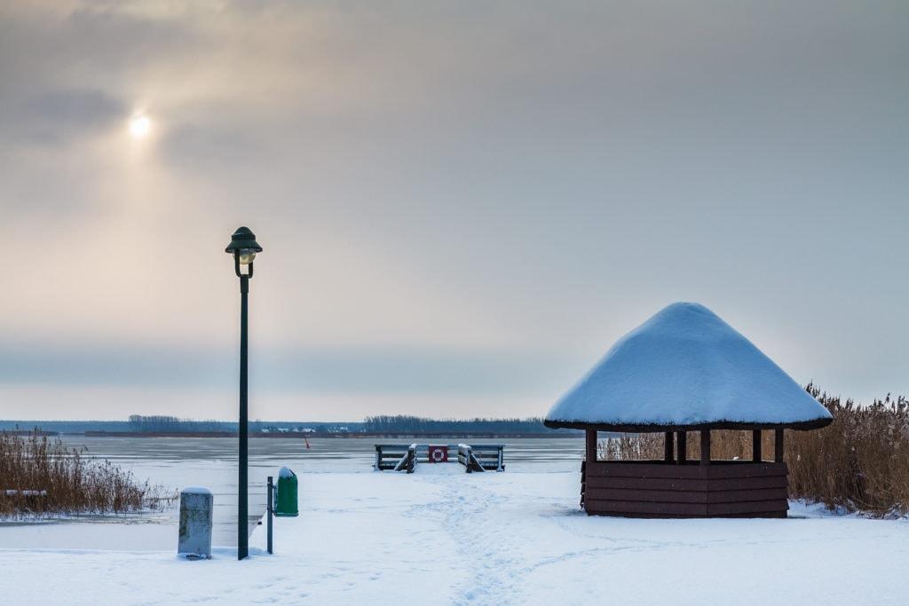 Born am Darß im Winter
