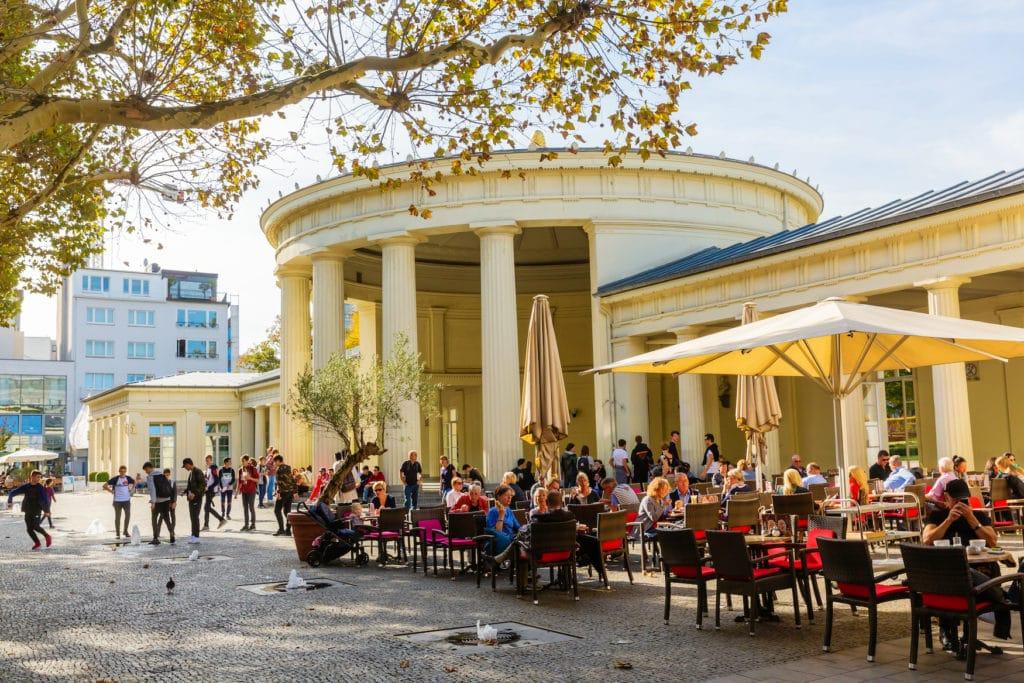 Café am Elisenbrunnen in Aachen