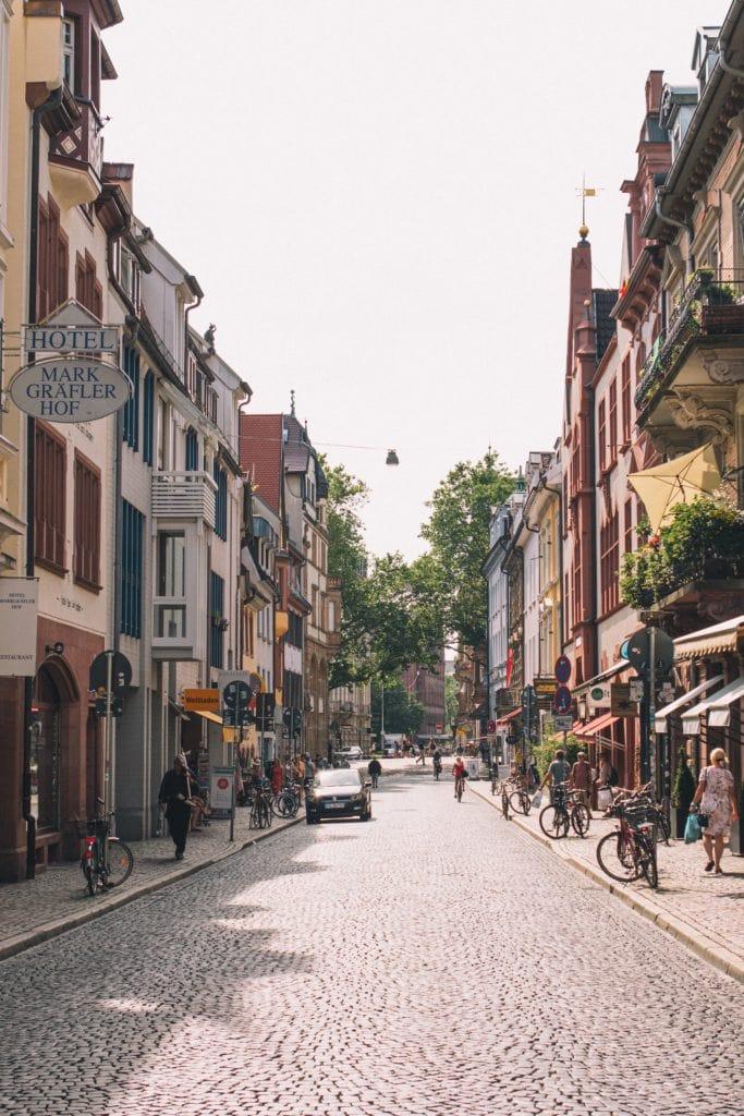 Altstadt in Freiburg im Breisgau