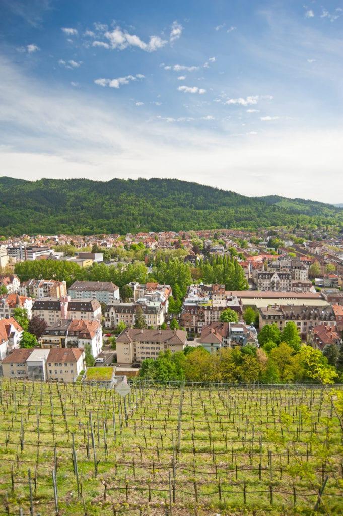 Stadtteil Wiehre in Freiburg Im Breisgau