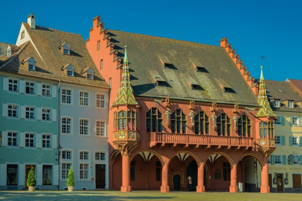 Historisches Kaufhaus - Eine der Freiburg Sehenswürdigkeiten