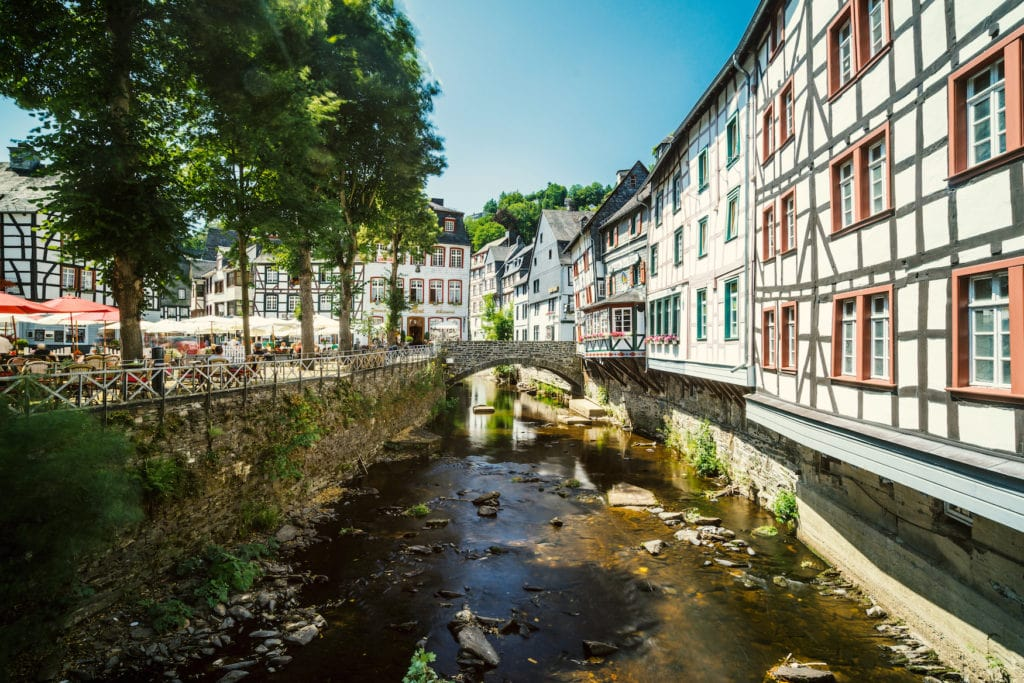 Monschau und seine Fachwerkhäuser
