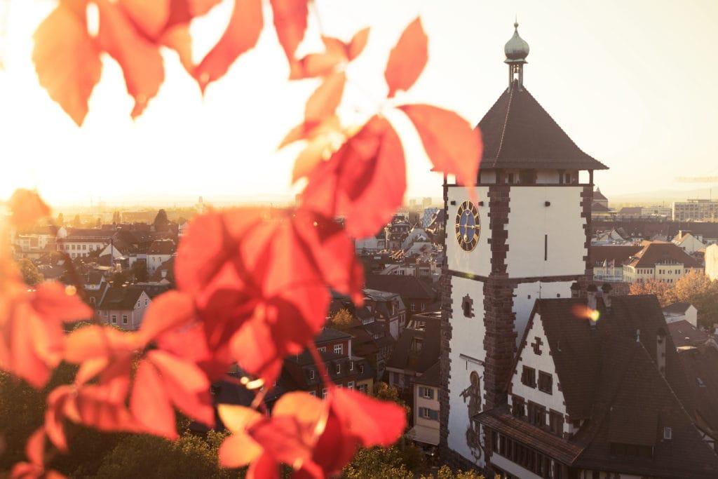 Das Schwabentor ist eine der Freiburg Sehenswürdigkeiten