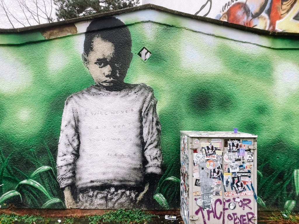 """Street Art vom Künstlerkollektiv """"Les Enfants Terribles"""" (L.E.T.)"""