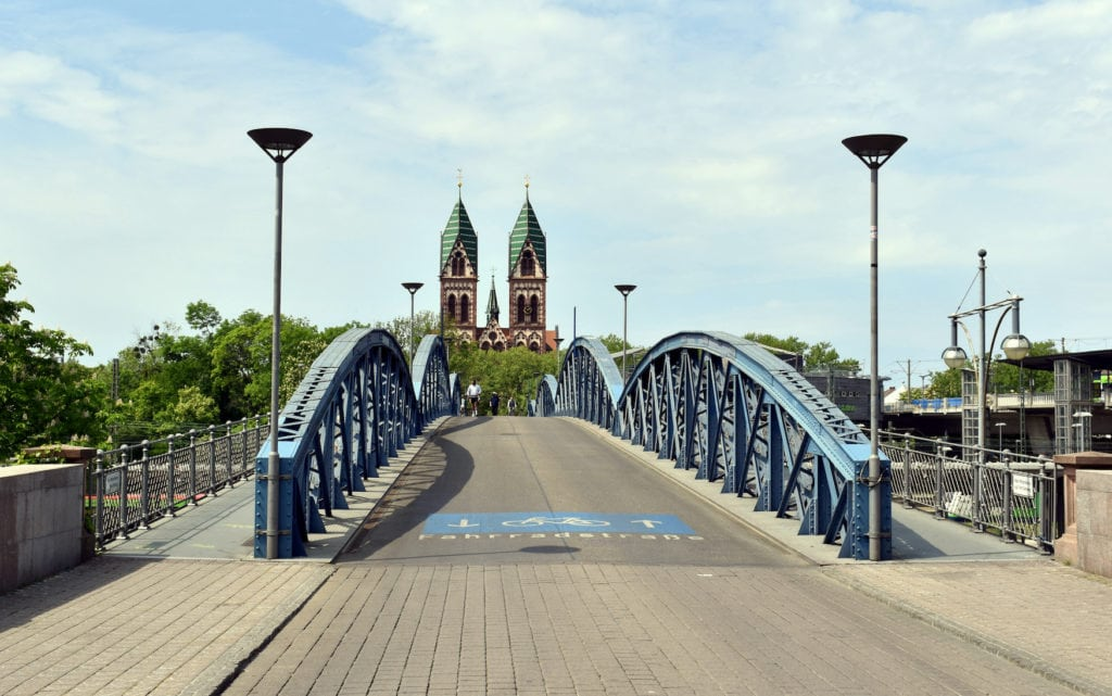Wiwili-Brücke in Freiburg