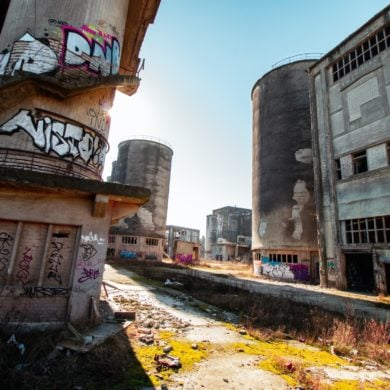 A lost Place somewhere in Berlin