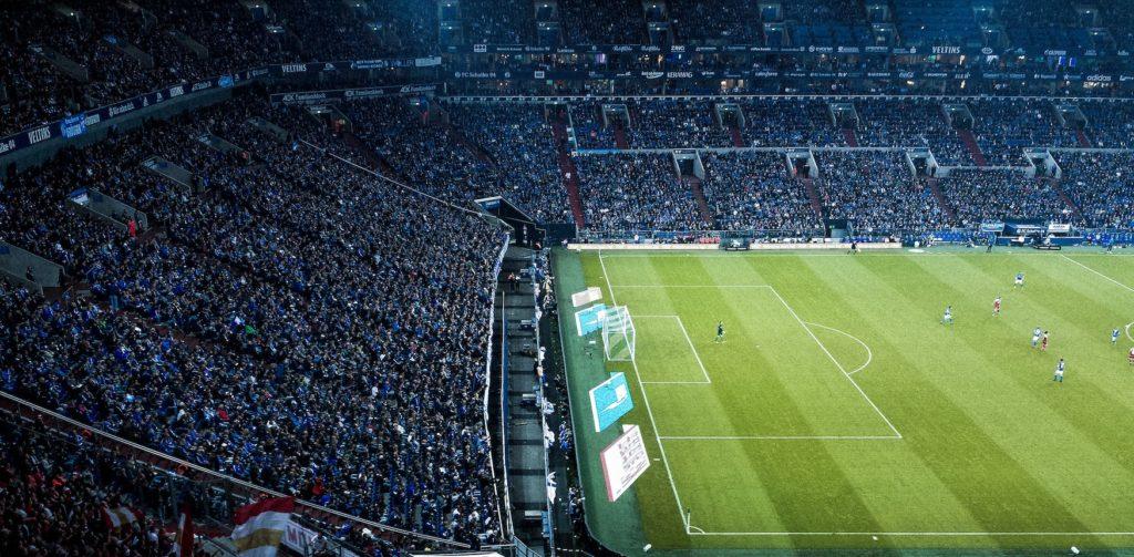 Veltins-Arena in Gelsenkirchen. Heimspiel des Schalke 04