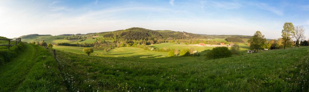Panorama von Kallenhart in Warstein