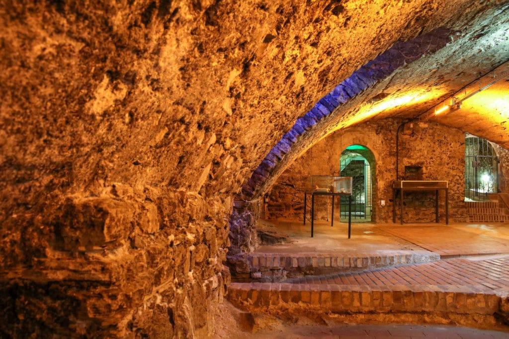 Das Kellerlabyrinth von Oppenheim in Rheinland-Pfalz