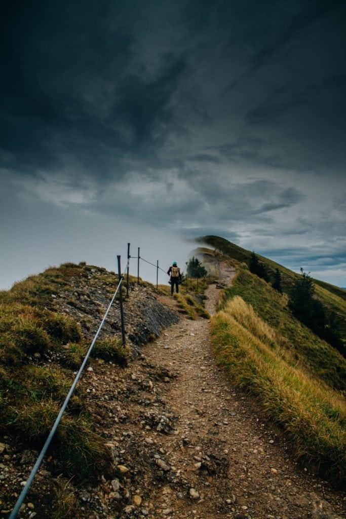 Unterwegs auf einem der längsten Fernwanderwege in Deutschland durch das Allgäu