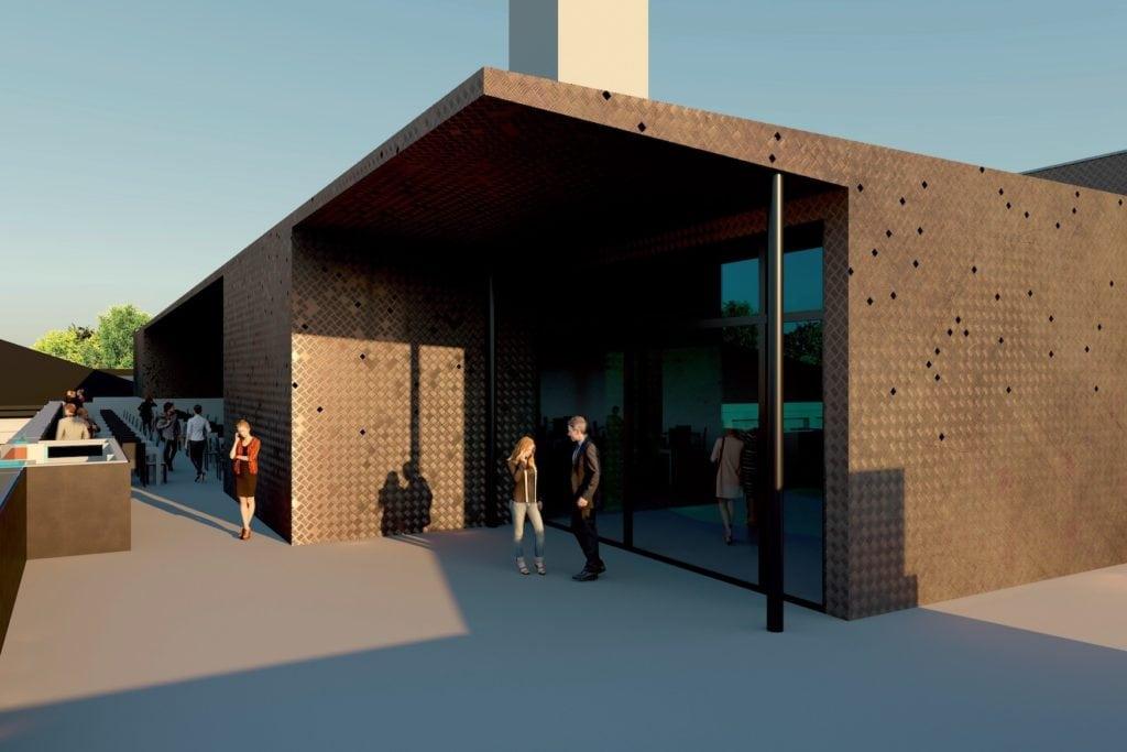 Rendering der neuen Dachterrasse im Deutschen Museum in München, das tolle Aussichten und viel Kultur verspricht