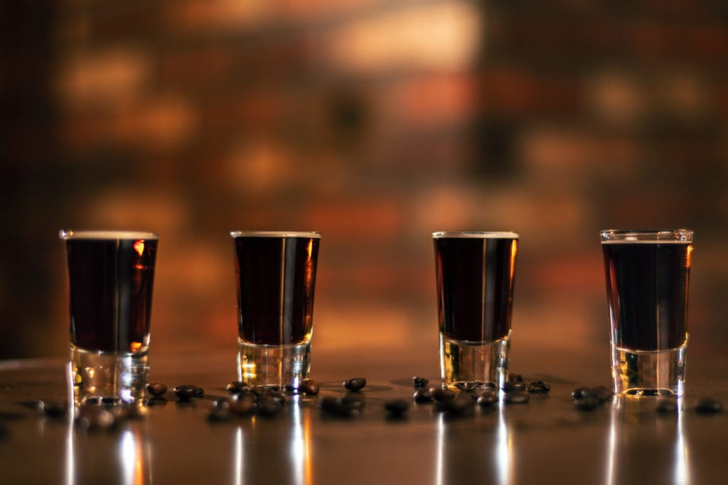 Schnäpse aus Deutschland: Liquid Cocaine, eine Mischung aus Kaffee, Vodka und Zucker