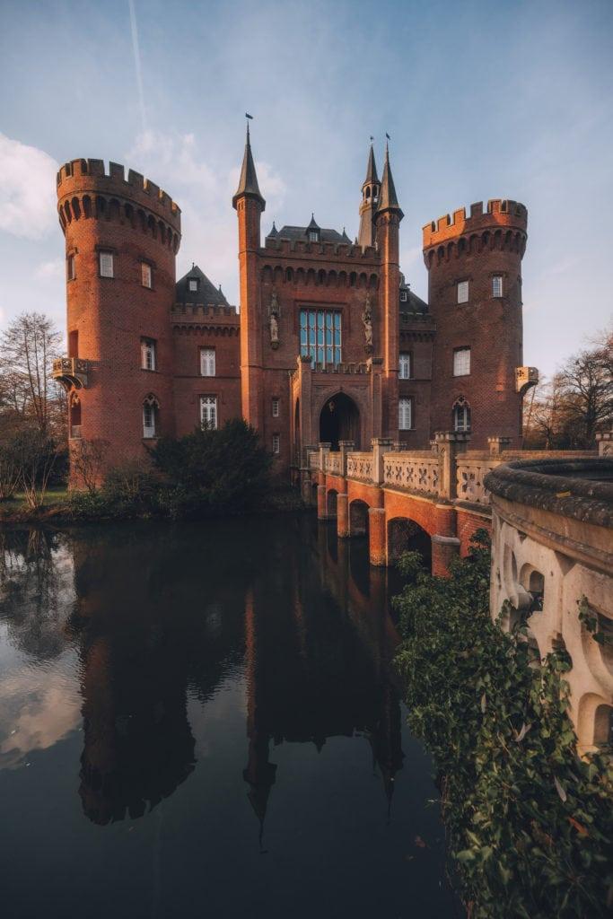 Wasserschloss Schloss Moyland in Bedburg-Hau