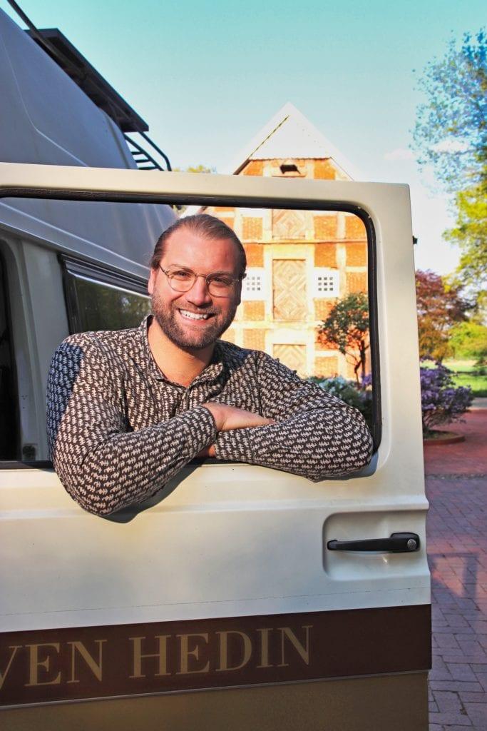 Portrait von Marco Guido, Gründer der Online-Plattform Stadt Land Bus Camping