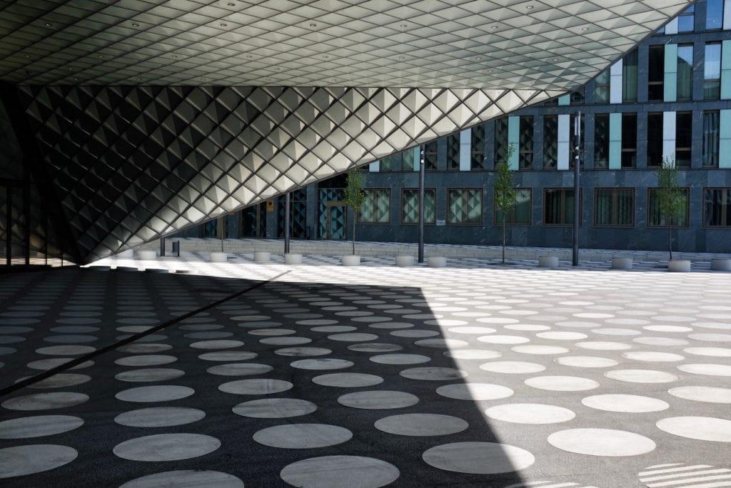 Außenfassade des Futuriums in Berlin