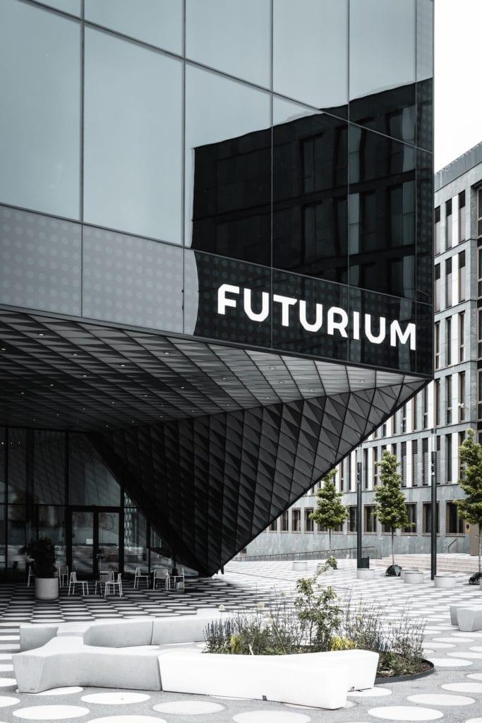 Einer der coolsten Fotospots in Berlin: Das Futurium