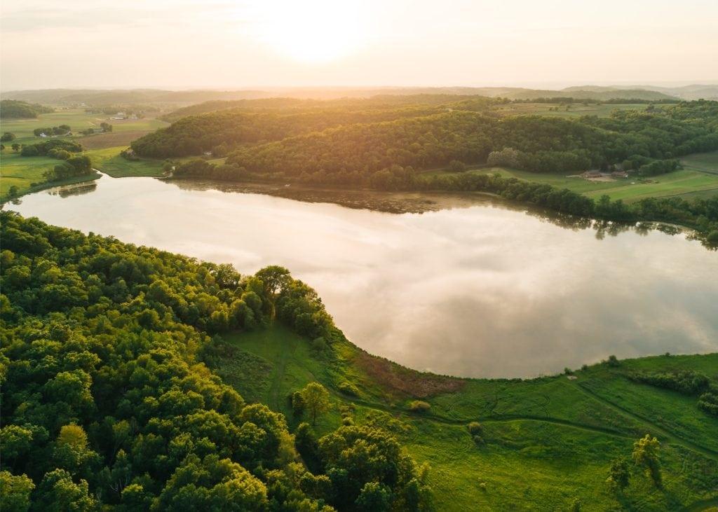 Seenlandschaft in Deutschland
