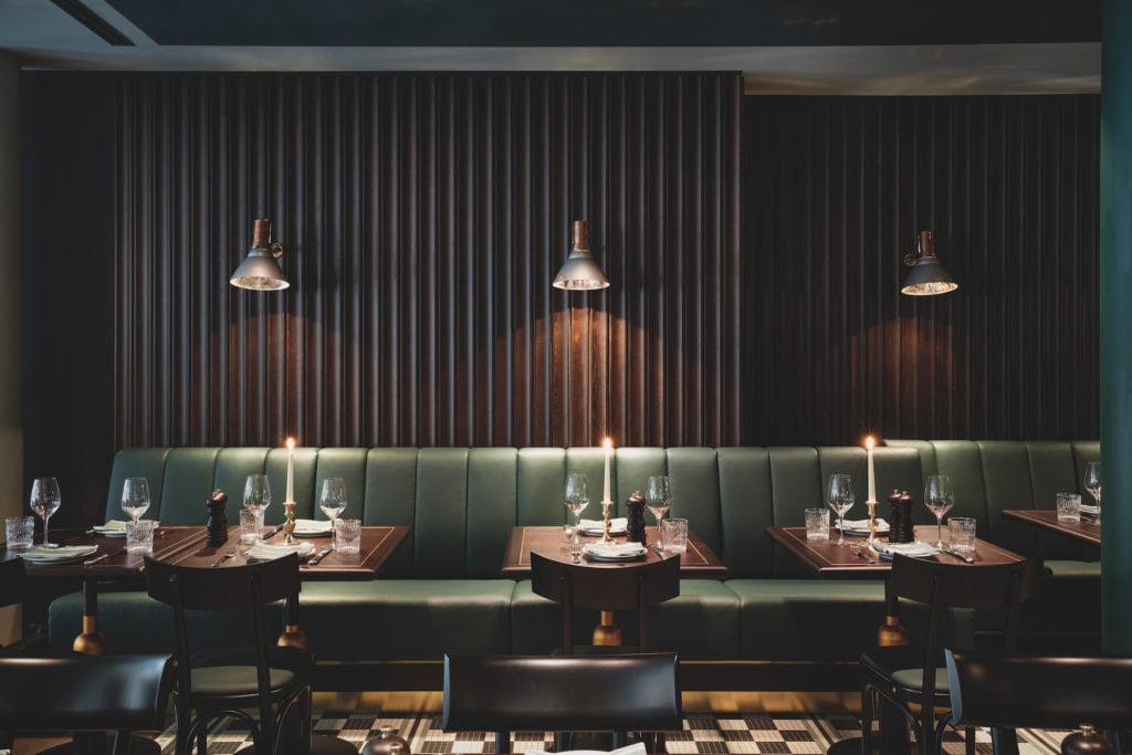 Schön designier Restaurant im Tortue Hamburg