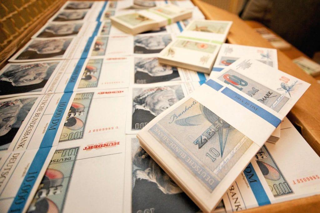 Geldscheine gedruckt in Cochem