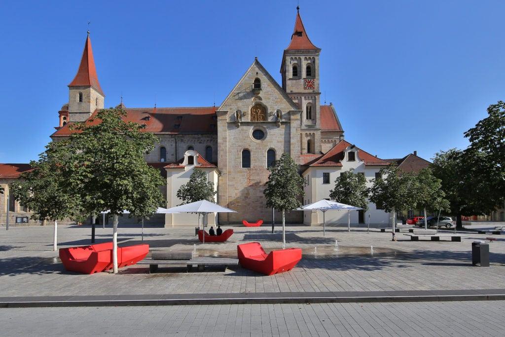 Marktplatz in Ellwangen