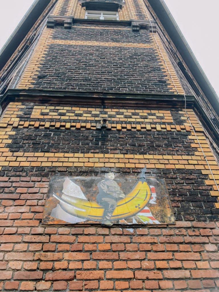 Street Art an der Alten Feuerwache auf einer Fahrradtour durch Köln