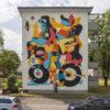 Kunst in Baden-Württemberg: Streetart-Werk in Mannheim